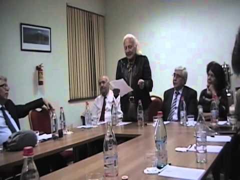 HONORING MELKONIAN TEACHERS SEPT 2012 - YEREVAN ARMENIA
