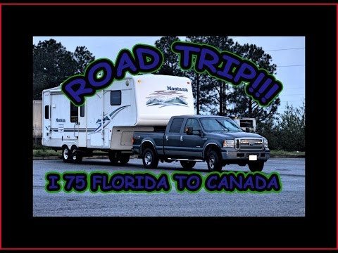 RV Roadtrip from Florida to Ontario, Canada: I-75 Route - Travel Food Drink