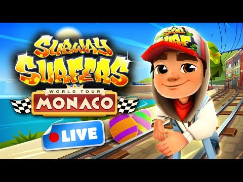 Subway Surfers World Tour 2017 - Monaco Gameplay Livestream