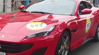 1000 Miglia 2019 Ferrari Tribute partenza 15 maggio