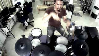 loso - อยากบอกว่าเสียใจ (Electric Drum cover by Neung) Thai Song