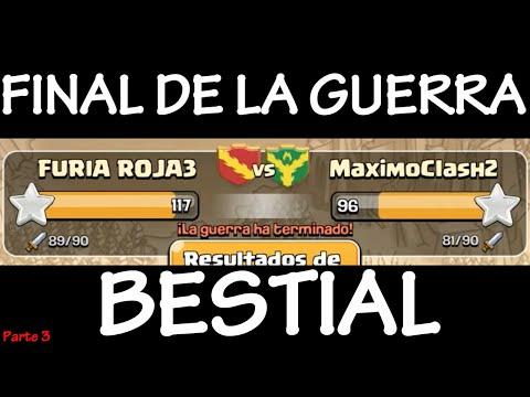 GUERRA DE CLANES: FURIA ROJA3 Vs MAXIMOCLASH2 (3) - Anikilo - Clash Of Clans - Español - CoC