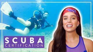 How To Get Your Open Water SCUBA Certification | PADI, NAUI, SSI