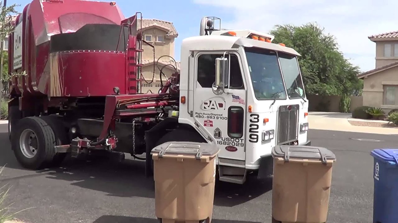 Right Away Disposal Ex Phoenix Pete 320 Heil Starr System