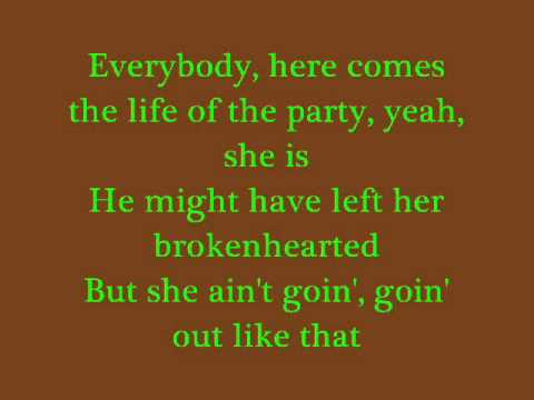 Going Out Like That - Reba McEntire (Lyrics)