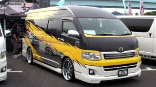 2011 HIACE CUSTOM CAR SHOW JAPAN TOKYO Part3 SBM スタイルボックスミーティング