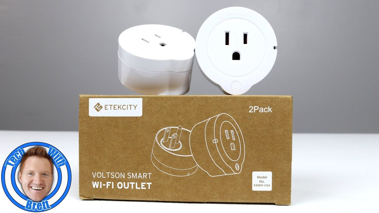 Etekcity Voltson WiFi Smart Plug (2-Pack) Can Be Controlled