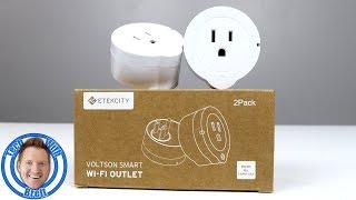 The Coolest Power Saving Smart Home Plugs | Etekcity Mini Smart Plugs Review