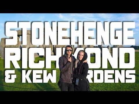 London Town EP. 2: Stonehenge, Richmond e Kew Gardens