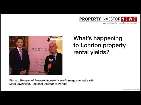 What's happening to London property rental yields?