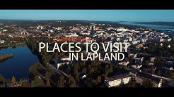 Lapland -  Places to visit in autumn colors | Lapin ruska | Phantom 4 pro