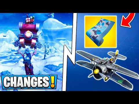 *ALL* Fortnite Season 7 Changes! | New Map, Wraps, Airplane, Big Vaults!