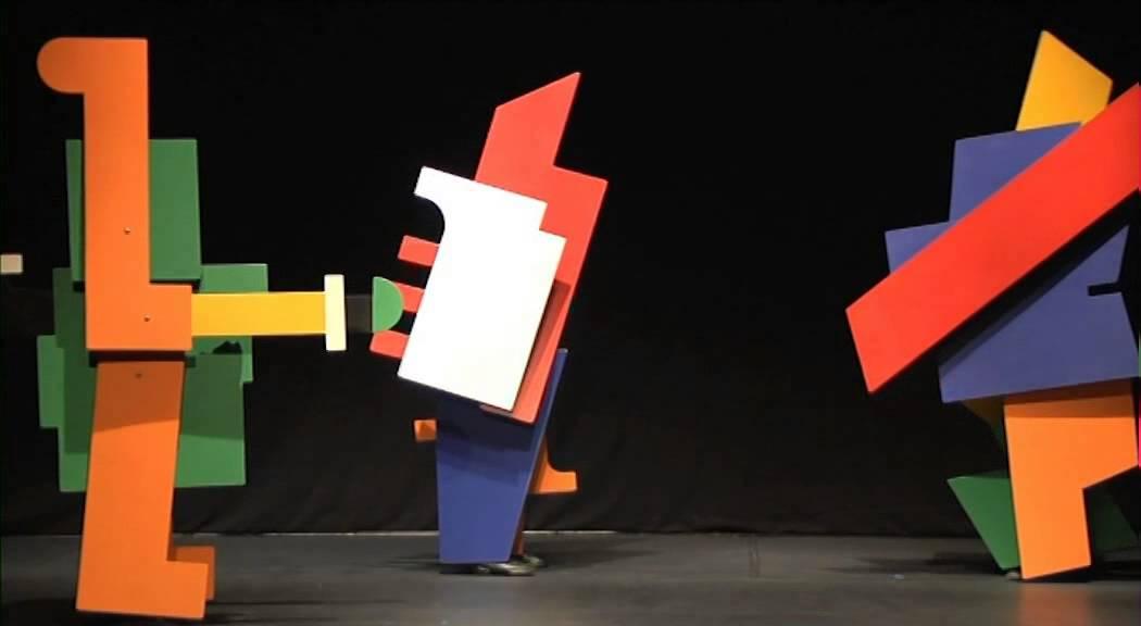 bauhaus bühne& tanz 2 YouTube ~ 01012028_Bauhaus Wäschekorb Mit Beinen
