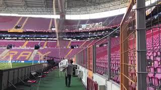 Стадион «Галатасарая» готовят к матчу с «Локомотивом»