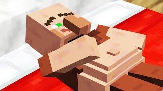 Minecraft mobs if they were still stuck inside