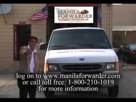 Manila Forwarder's shipping to Philippines