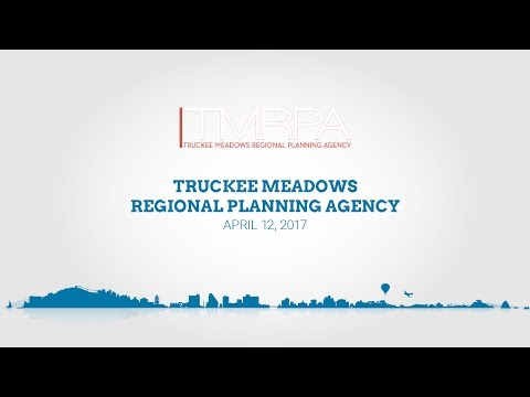 Truckee Meadows Regional Planning Agency | April 12, 2017