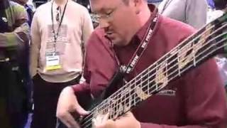 Gambar cover Scott Pazera & Yves Carbonne at jerzy Drozd Basses booth at NAMM 2006 show