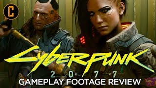 Cyberpunk 2077 Gameplay Reveal Footage First Impressions and Review