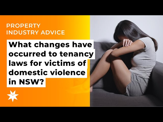 What changes have occurred to tenancy laws for victims of domestic violence in NSW?
