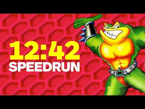 Battletoads Finished In An Incredible 12 Minutes - Speedrun
