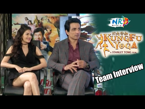Kung Fu Yoga Team Interview || Jackie Chan, Sonu Sood, Disha Patani
