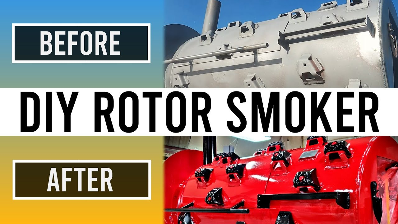 EXTREME Rotor MAKEOVER | BBQ Smoker Transformation Part 3