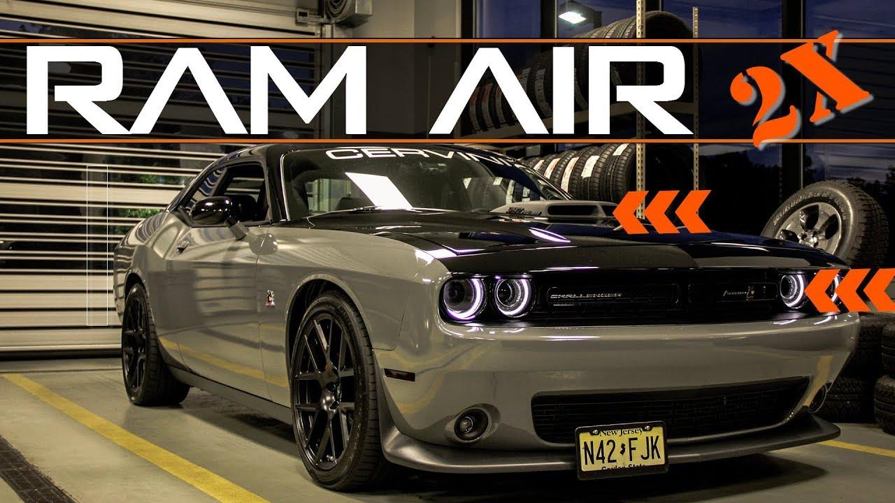 Cervini S Ram Air Mods Spectre Filter Hellcat Intake