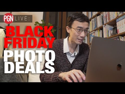 LOK FINDS THE BEST BLACK FRIDAY PHOTO DEALS!