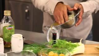 Fennel Salad With San Daniele Prosciutto