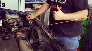 18 Liter Öl in den Motor füllen | Dumm Tüch
