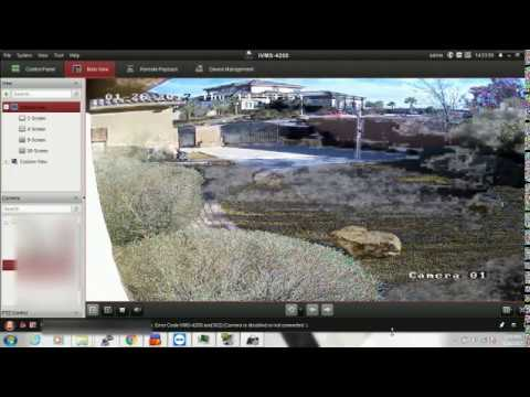 Troubleshooting single camera view freeze on Hikvision