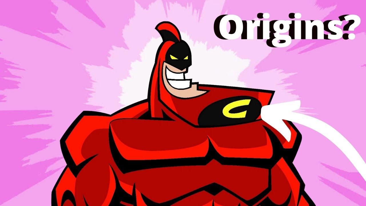 Crimson Chin Origins? | Butch Hartman