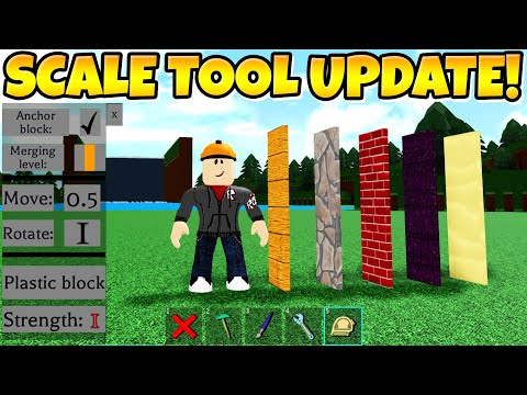 THE SCALE TOOL UPDATE! (CRAZY) Build A Boat