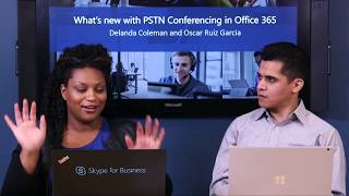 SfB Broadcast: Ep. 50 What's new with PSTN Conferencing