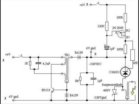 hqdefault hv ignitor schematic youtube philips sn58 ignitor wiring diagram at bakdesigns.co