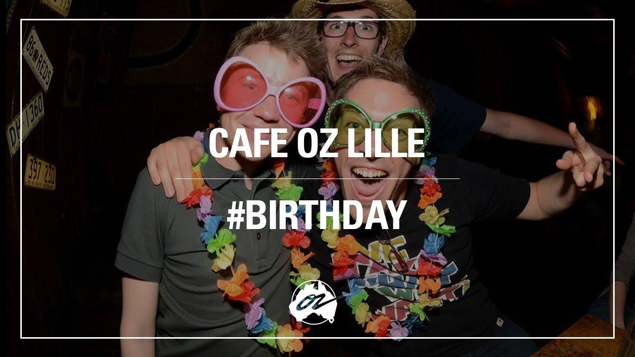 anniversaire cafe oz