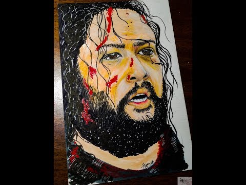 Jerry (Cooper Andrews) TWD - Speed Drawing