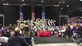 University of Regina Cheerleading - PCA Collegiate Nationals - Run 2 - Small Coed