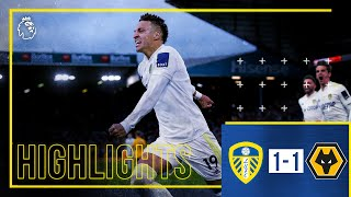 Highlights: Leeds United 1-1 Wolves | Rodrigo penalty earns point at Elland Road | Premier League screenshot 5