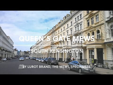 Queen's Gate Mews || South Kensington || Lurot Brand || SW7