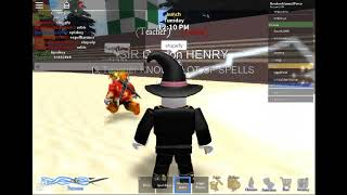 Roblox (Wizard Life) battle of the wands