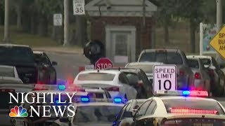 Pensacola Naval Base Shooting Presumed To Be Terrorism, FBI Says | NBC Nightly News