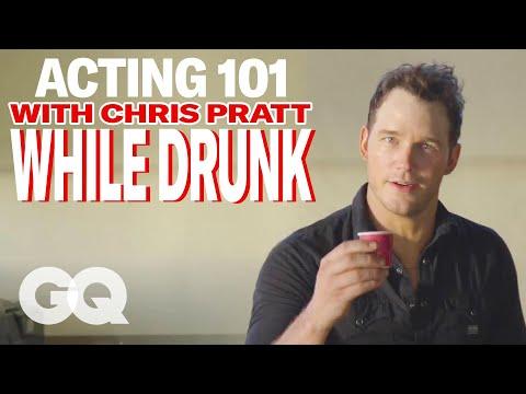 Chris Pratt's Drunk Acting Lessons