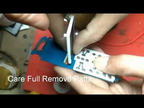 How to Replace Lcd Display For Any Keypad Mobile Phones