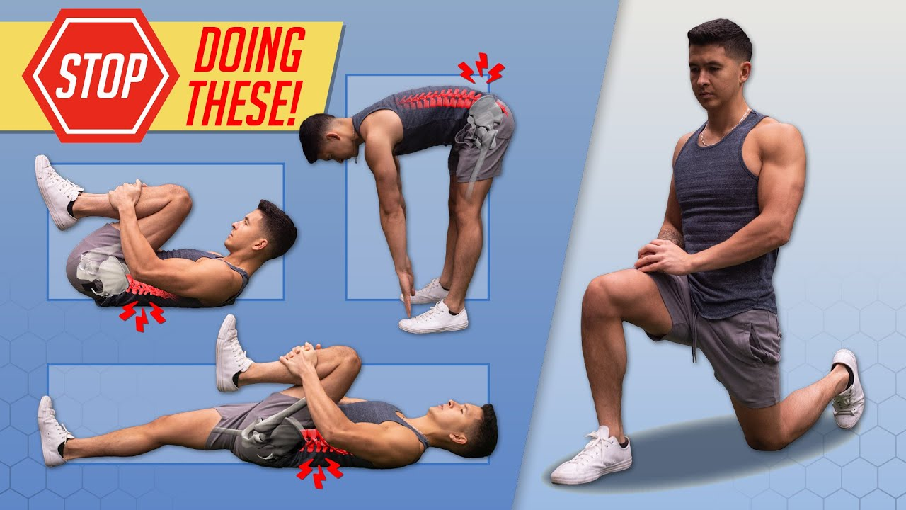The WORST Stretches For Low Back Pain And What To Do Instead Ft. Dr.  Stuart McGill