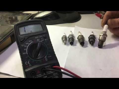 Как мультиметром проверить свечу зажигания