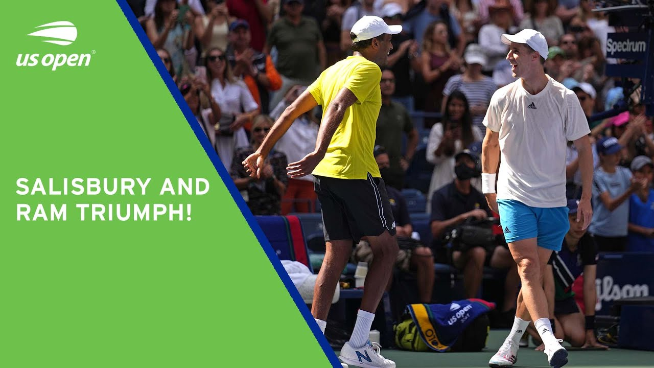 Championship Point   Joe Salisbury & Rajeev Ram Win The Men's Doubles Title   2021 US Open