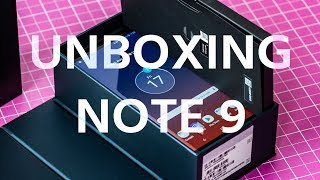 Unboxing della nuova S-PEN: il Samsung Galaxy NOTE 9 È QUI!