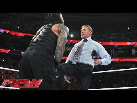 Mr. McMahon Entscheidet über Roman Reigns' Schicksal: Raw – 14. Dezember 2015